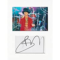 Culture Club – Boy George Autentico autografo AFTAL gioiello # 2