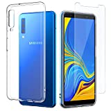 EasyAcc Case + Screen Protector for Samsung Galaxy A7 2018,