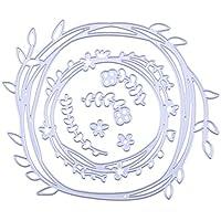 La Cabina Matrices de Découpe Cutting Dies Stencils Scrapbooking Embossing Décoration Artisanale (Branche d'olivier)