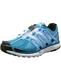 Salomon X SCREAM Zapatillas Trail Running Azul Blanco para Mujer
