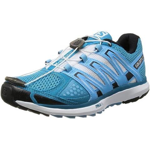 Salomon X SCREAM Zapatillas Trail Running Azul Blanco para Mujer