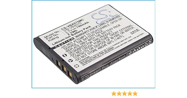 Battery for Panasonic HX-DC1EG-P HX-DC1EB-H HX-DC10 HX-DC1EB-R HX-DC1EF-H HX-DC1