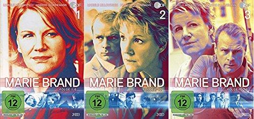 Marie Brand 1-3 (1+2+3) Folge 1-18 [DVD Set]