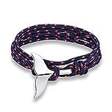 Best Ami Anchor Anneaux - DLIAAN Whale Tail Anchor Bracelet Hommes Nautique Rouge Review