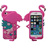 Best GENERIC 5c Phone Cases - Soft iPhone 5 5S Case, Beautiful Flamingo Appearance Review