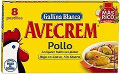 Gallina Blanca Avecrem Caldo de Pollo, 8 Pastillas
