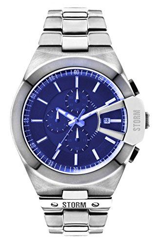 Storm Orologio da uomo cronografo in acciaio inox 47248/L Vexitron Blue