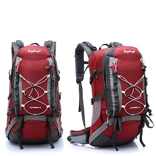 Pathfinder pioniere sacchetto di alpinismo borsa zaino trekking esterno per inviare parapioggia sistema di trasporto staccabile rosso