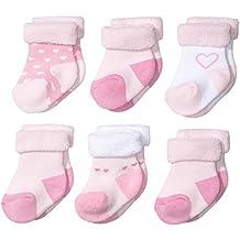 Twins Baby - Mädchen Erstlingssöckchen im 6er Pack