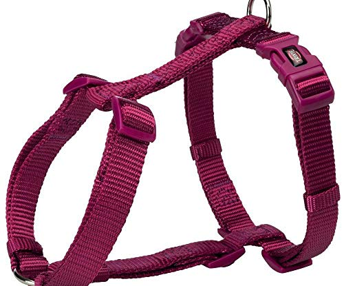 Premium H-harness L-xl 75-120 Cm / 25 mm, Orchidea, Trixie, Nylon, Pettorine, Cani