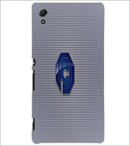 PrintDhaba C Font D-1586 Back Case Cover for SONY XPERIA Z4 (Multi-Coloured)