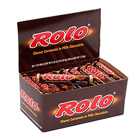 Rolo Chewy Caramel Chocolate Full Size Sweets 36 x Rolls