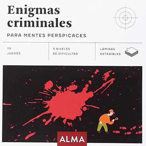 Enigmas criminales para mentes perspicaces (Cuadrados de diversión) por Pedro Avilés