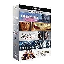Le Meilleur de la 4k - Coffret 5 Films - Edition Limitée [4K Ultra HD + Blu-ray + Digital HD]