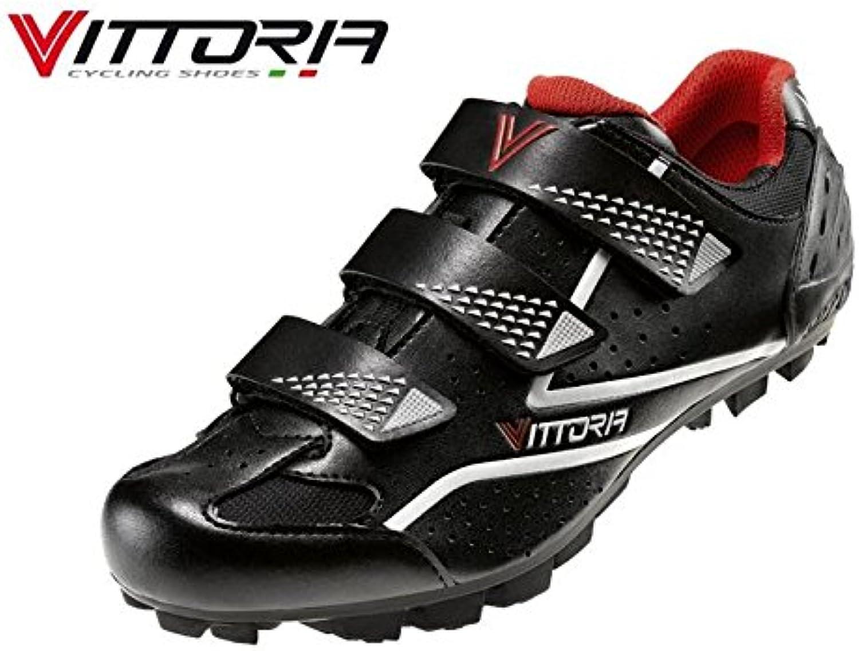 Zapatos bicicleta MTB VITTORIA Peak negras, Unisex adulto