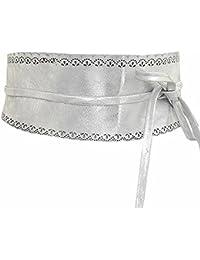 02ead56871264 Suchergebnis auf Amazon.de für: wickelgürtel - Silber: Bekleidung