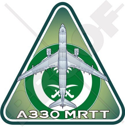 airbus-a330-mrtt-rsaf-royal-saudi-airforce-tanker-saudita-arabo-94-cm-95-mm-adesivo-in-vinile-decalc