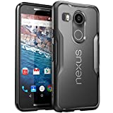 Etui Nexus 5X Edition 2015 - SUPCASE [Serie Unicorn] Premium hybride protection Bumper Case (Frost/Black)