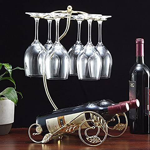Finitura in acciaio inossidabile vino Rack supporto a pavimento contiene?ferro battuto in stile rack vino,foglie serbatoi, oro locale