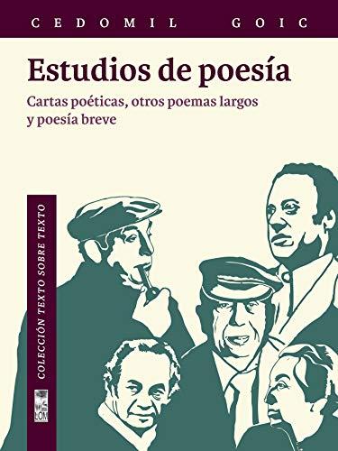 Estudios de poesía: Cartas poéticas, otros poemas largos y poesía breve
