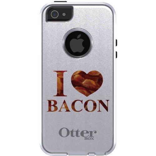 tink Fall für iPhone 5 / 5S / Se Otterbox Commuter Weiß Speck Schreiben I Heart Speck auf Weiß & Gray Fall ()