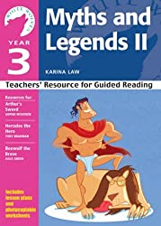 Year 3 Myths and Legends II: Teachers' Resource for Guided Reading (White Wolves: Myths and Legends) by Karina Law (2008-09-01)