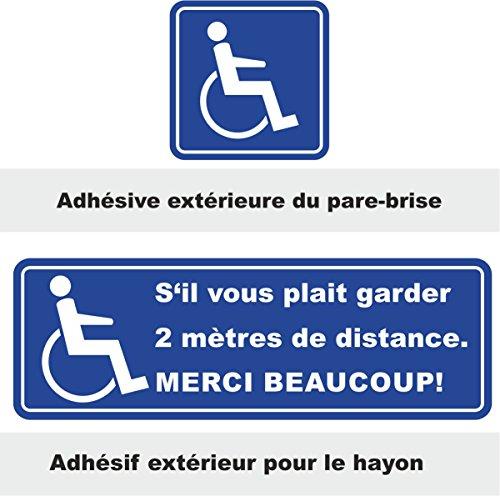 sticker-set-sil-vous-plait-garder-2-metres-de-distance-merci-fauteuil-roulant-taille-30x10cm-10x10cm