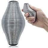 Kidac Fingertrainer Ball Edelstahl Physikalische Therapie Bälle für Finger Training Handtrainer Finger Plam Rehabilitation