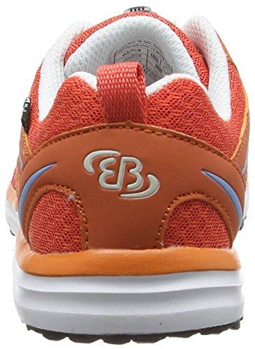 Brütting Strike, Chaussures de course fille Orange - Orange (lachs/weiss)
