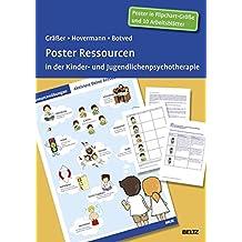 Poster Ressourcen in der Kinder- und Jugendlichenpsychotherapie: Mit 11 Arbeitsblättern in der Sammelmappe. Format Poster: 98 x 67 cm