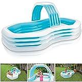 Intex Family Lounge Pool Schwimmbad aufblasbar Familienpool 310x188x130cm 57198