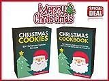 Christmas Cookbooks: 2 Titles: Christmas Cookbook (60 Recipes) + Christmas Cookies (50 Recipes)