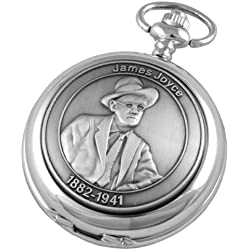 A E Williams Men's James Joyce Mechanical Pocket Watch 4974Sk