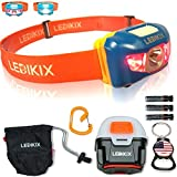 Best Backpacking Headlamps - Brightest LED Headlamp Lightweight Portable Waterproof Flashlight Head Review