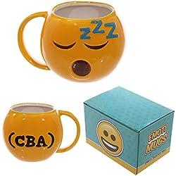 Dormir CBA Emoji Taza