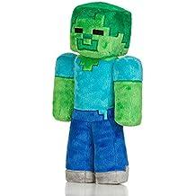 Minecraft Peluche Zombie 30,5 cm, Colore Green, Taglia Unica, JX5949