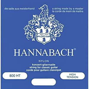 Hannabach 800HT Kit cordes de guitare avec deuxième corde Ré