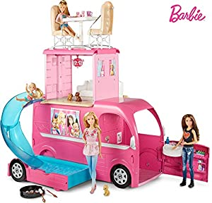 Barbie Caravana, accesorios para las muñecas (Mattel CJT42)