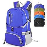 GlymnisFaltbarer Rucksack 30L Wanderrucksack multifunktionaler Tagesrucksack Ultraleicht Packable für Outdoor Sport Wandern Reisen Damen Herren und Kinder