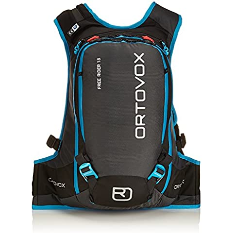 Ortovox Rucksack Free Rider - Mochila para esquís, color negro, talla 51 x 27 x 20 cm