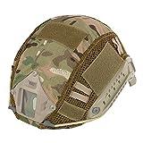 Cubierta de camuflaje Leezo para casco, hecho de nailon, ideal para deportes al aire libre, escalada o camping, CP