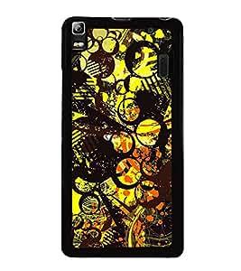 Fuson Designer Back Case Cover for Lenovo A7000 :: Lenovo A7000 Plus :: Lenovo K3 Note (line of flowers designer art artwork )