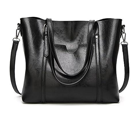 Panzexin Hochwertige Luxus PU Designer Handtaschen für Damen Handtasche Art und Weise der Frauen große Umhängetasche Tragetasche Geldbeutel