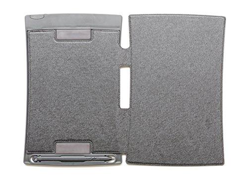 xcivi PU Leder Schutzhülle für Boogie Board Jot 21,6LCD Writing Tablet schwarz