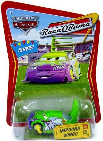 Disney / Pixar CARS Movie 1:55 Die Cast Car Series 4 Race-O-Rama Impound Wingo Chase Piece! by Disney