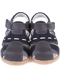 d52bf2f0c Gaatpot Unisex Niños Sandalias con Punta Cerrada Niña Niño Zapatos Sandalias  de Vestir en Cuero Zapatillas