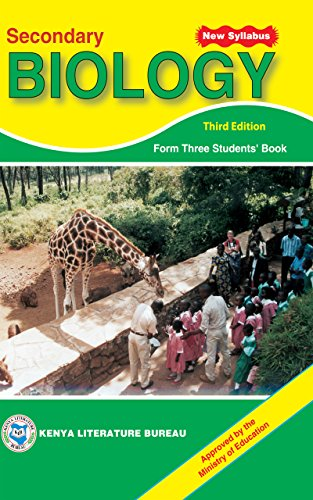 Secondary Biology Form 3 Students' Book (Third Edition