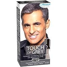 Just For Men Touch Of Grey - Tratamiento Colorante Gradual, Moreno Negro - 40 gr