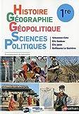 Histoire-Géographie, Géopolitique, Sciences Politiques (HGGSP) 1re - manuel élève (nouveau programme 2019)...