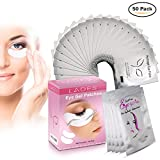 Eye Gel Pads - 50 Pairs of Eyelash Lash Extension Under Eye Gel Pads Lint Eye Patches (50PCS)